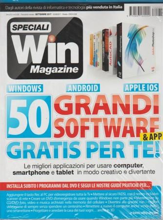 Speciali Win Magazine - 50 grandi software & app gratis - Agosto 2017