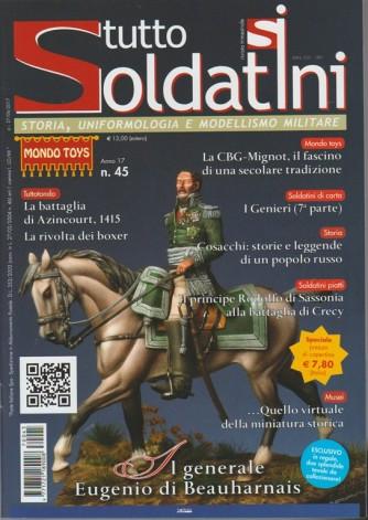Tutto Soldatini-trimestrale n.45 Luglio 2017 il Generale Eugenio di Beauharnais