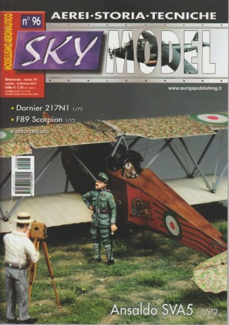 Sky Model - bimestrale n. 96 Agosto 2017 - Ansaldo SVA5