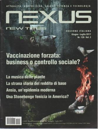 Nexus New Times - bimestrale n. 128 Giugno 2017 edizione Italiana