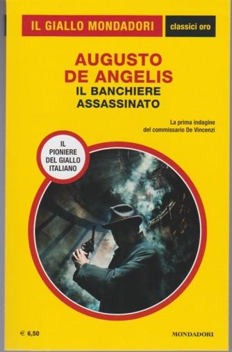Il Banchiere Assassinato di Augusto De Angelis - Prima indagine comm.De Vincenzi