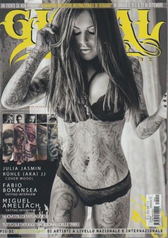 Global Tattoo - bimestrale n. 10 Agosto 2017 - Nuovi stili di tatuaggio II