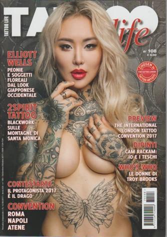 Tattoo Life - bimestrale n. 108 Settembre 2017 - il Drago protagonista del 2017