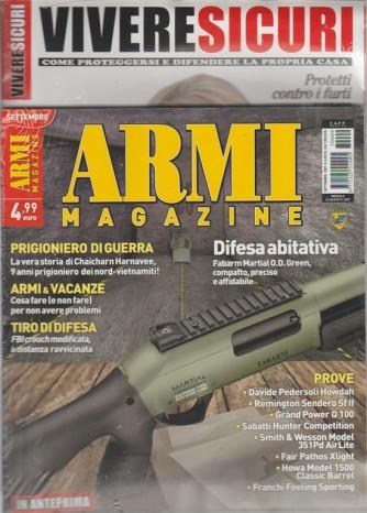 Armi Magazine - mensile n. 9 Settembre 2017 + Guida: Vivere Sicuri