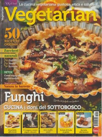 Vegetarian - bimestrale n. 12 Agosto 2017 - Quiche di finferli co fontina