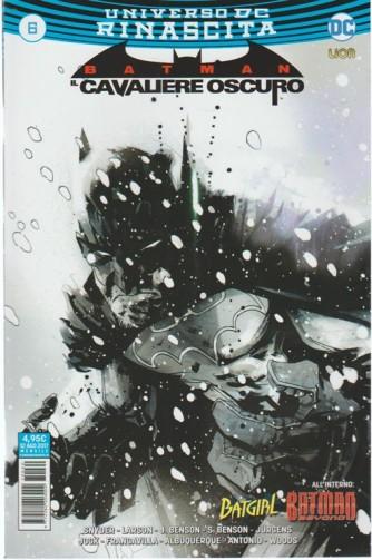BATMAN IL CAVALIERE OSCURO (60) 6 - Universo DC Rinascita - DC Comics Lion