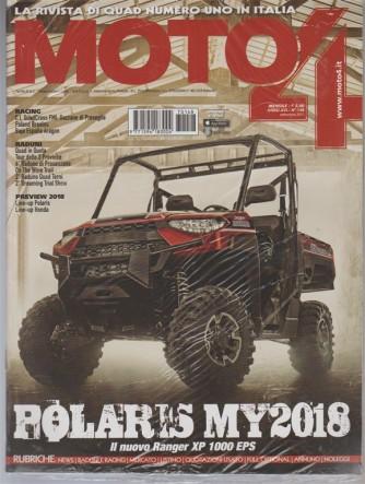 Moto 4- mensile n.148 Settembre 2017-Polarys MY 2018-il nuovo Ranger XP 1000 EPS