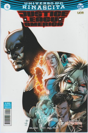 JUSTICE LEAGUE AMERICA (42) 4 - Universo DC Rinascita - DC Comics Lion