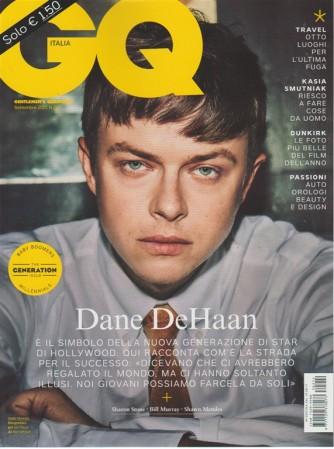 GQ Italia - mensile n. 212 Settembre 2017 - Dane DeHaan