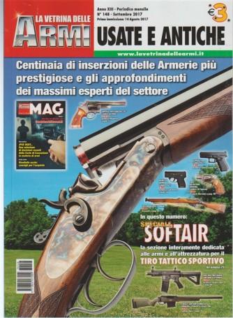 """La Vetrina delle Armi """"usate e antiche"""" - Mensile n. 148 Settembre 2017"""
