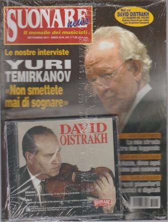 Suonare News -il mensile dei musicisti n.241 Settembre 2017 + Cd David Oistrakh