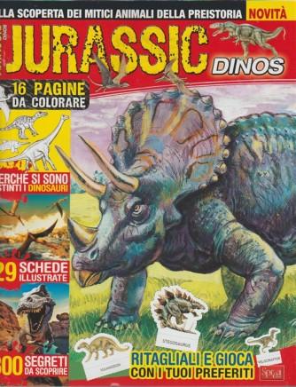 Jurassic Dinos - alla scoperta dei mitici aniali della preistoria