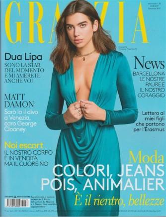 Grazia - settimanale n. 36 - 24 Agosto 2017 - Dua Lipa: 22 anni, cantante