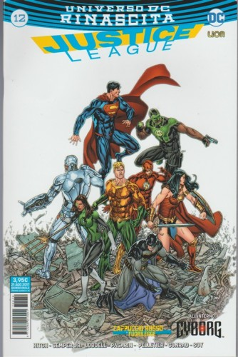 JUSTICE LEAGUE (70) 12 - Universo DC Rinascita - DC Comics LION