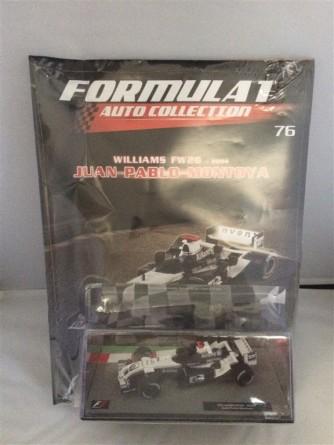 Formula 1 Auto Collection n.76 - Williams FW26 (2004) - Juan Pablo Montoya