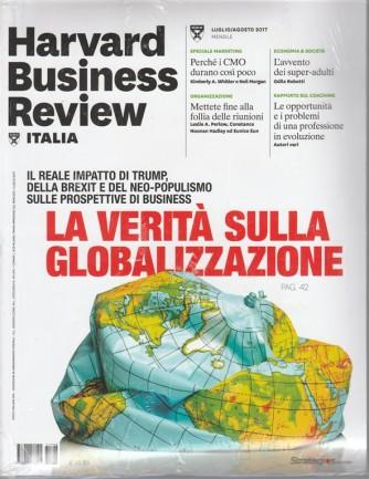 Harward Business Revew Italia-mensile n.8 Luglio 2017+Rapporto Export 2017