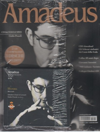 Amadeus - mensile n. 334 Settembre 2017 + 2 CD e 1 Download inediti