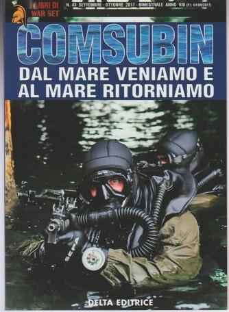 I Libri Di War Set - bimestrale n. 43 Ottobre 2017 - Comsubin
