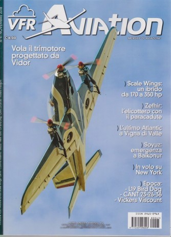 Vfr Aviation - n. 41 - novembre 2018 - mensile