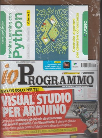 Io Programmo - mensile n.218 - ottobre 2017 versione Libro +  CD