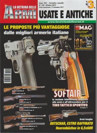 """La Vetrina delle Armi """"Usate e Antiche"""" - mensile n. 149 Ottobre 2017"""