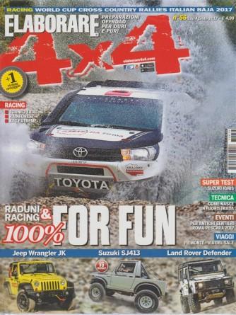 Elaborare 4X4 - bimestrale n. 56 - Lugli 2017 - Raduni e Racing 100% for Fun