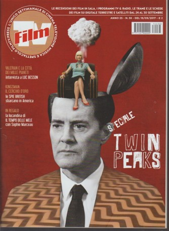 Film Tv - settimanale n.38 - 19 settembre 2017 - Speciale Twin peaks