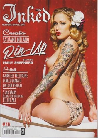 Inked Italy - bimestrale n.16 Settembre 2017 - Convention Tatuami Milano