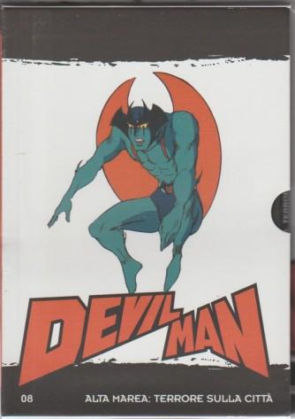 """8° DVD Devil Man - """"Alta marea: terrore sulla città"""