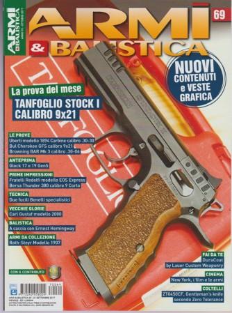 Armi & Balistica - mensile n. 69 Ottobre 2017 - Tanfoglio Stock I calibro 9x21