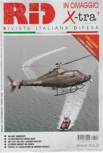 RID rivista italiana difesa - mensile n. 10 Ottobre 2017 - Allegato X-Tra'
