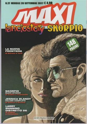 Lanciostory & Skorpio Maxi - mensile di fumetti n 27 - Settembre 2017