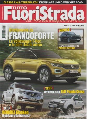 Tuttofuoristrada - Mensile n. 8 Ottobre 2017 - dal 1975 il meglio di SUV e 4x4