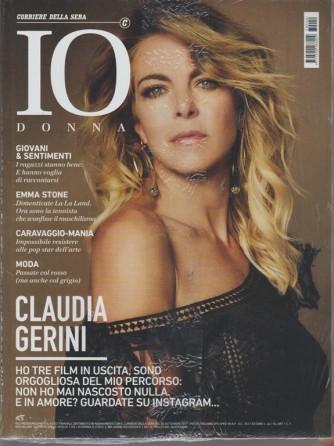 Io Donna - allegato Corriere della sera n. 40 30 Settembre 2017 Claudia Gerini