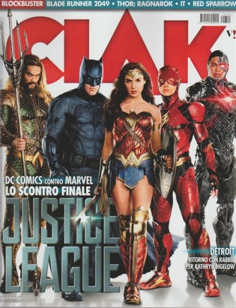 Ciak - mensile n. 10 Ottobre 2017 - Justice League