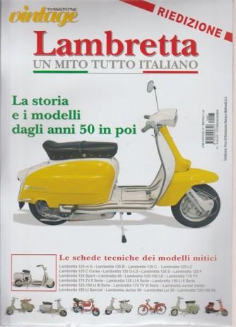Passione vintage - Lambretta un mito tutto italiano  (RIEDIZIONE)