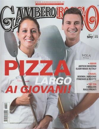 """Il Gambero Rosso - mensile n. 309 Ottobre 2017 Pizza """"Largo ai giovani!"""""""