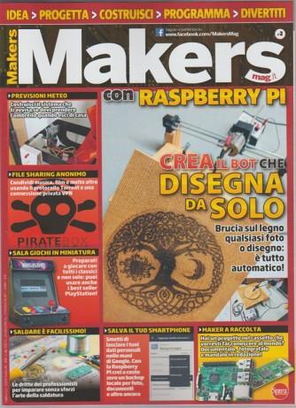 Makers Mag Italia con Raspberry PI - mensile n. 2 Ottobre 2017