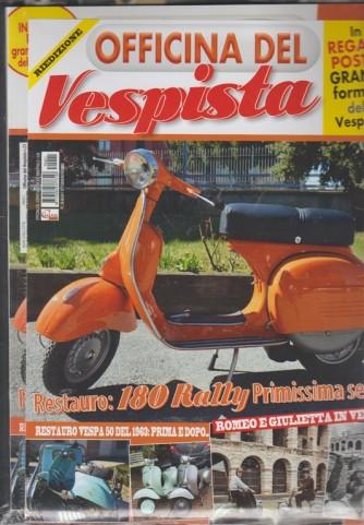 Officina del Vespista n. 21 - RIEDIZIONE - in regalo Poster della Vespa 98
