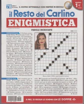 Enigmistica - settimanale n. 78 - 3 Ottobre 2017 By il Resto del Carlino