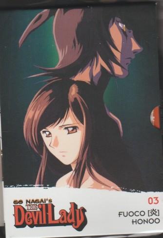 """3° DVD Go Nagai's:  The Devil Lady - """"FUOCO"""" by la Gazzetta dello Sport"""