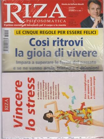 Riza Psicosomatica - mensile n.440 Ottobre 2017 + libro Vincere lo stress