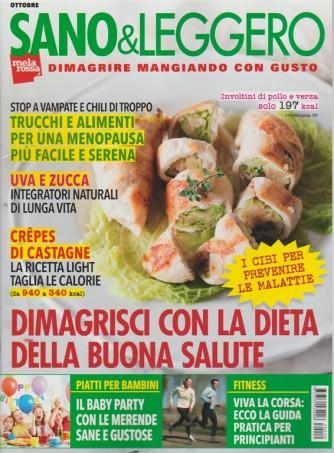 Sano & Leggero - mensile n. 10 Ottobre 2017 Dimagrire mangiando con gusto