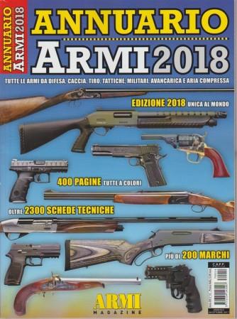 Annuario Armi 2018 - edizione unica al mondo - ottobre 2017