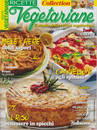 Ricette Vegetariane Collection - n. 1/2/7 di Ricette Vegetariane RIEDIZINE