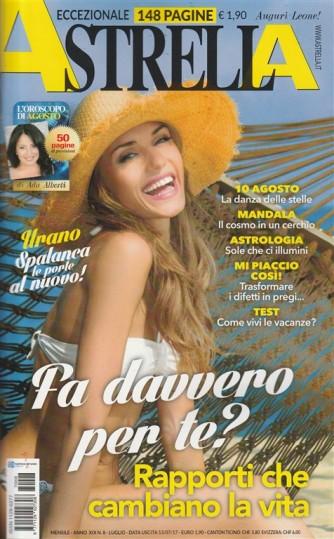 Astrella - mensile n. 8 Luglio 2017 - l'Oroscopo di Ada Alberti