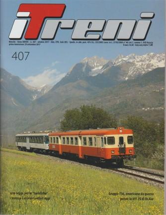 i Treni - Mensile n. 407 Ottobre 2017