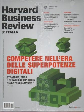 Harward Business Review Italia - mensile n.10 Ottobre 2017 + Nuovi orizzonti...