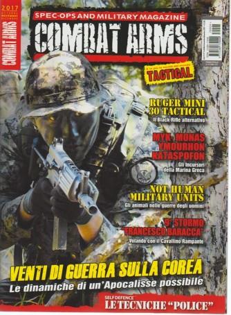 Combat Arms - trimestrale n. 4 Ottobre 2017 - le novità dal mondo Tactical