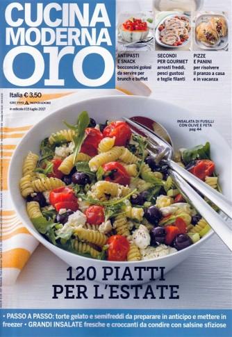Cucina Moderna Oro - bimestrale n. 131 - Luglio 2017 - Pizze e panini